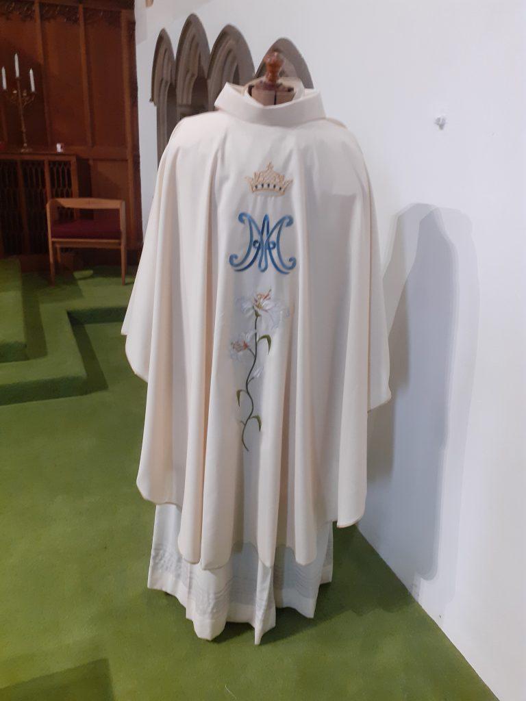 New Marian Vestment